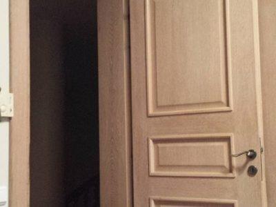 Πόρτα από Δρύς Μασίφ σε μονοκατοικία στην Κηφισιά - Έργα Αντωνόπουλος
